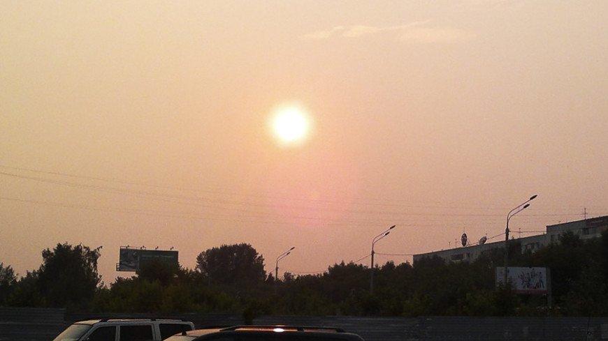 """© Фото: Елена Крайнова, """"«МИР 24»"""":http://mir24.tv/, жара, солнце, закат"""