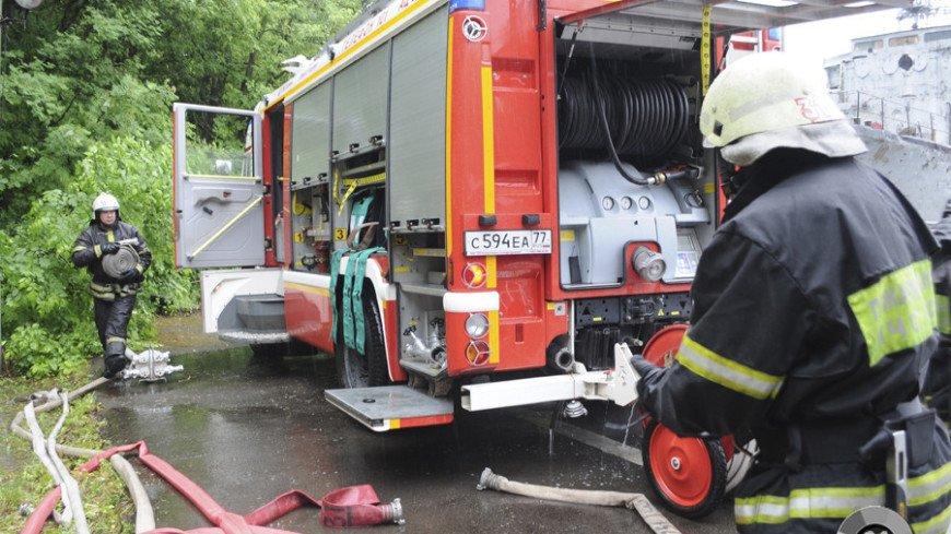 Крупный пожар на пекарне в Пензе потушили