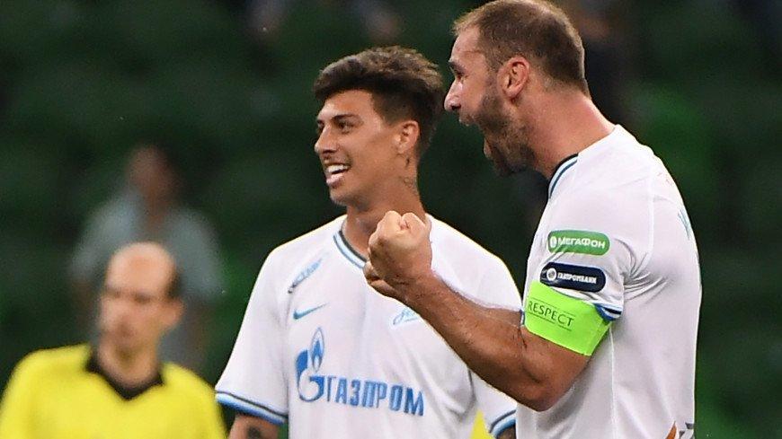 «Зенит» – чемпион: команда обыграла «Краснодар» и в шестой раз выиграла РПЛ