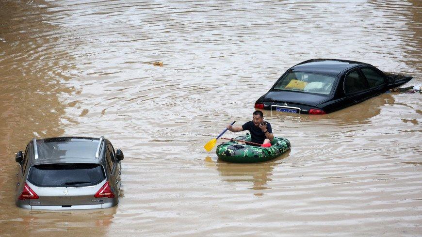 Ущерб от наводнений в Китае уже превысил 11 млрд долларов
