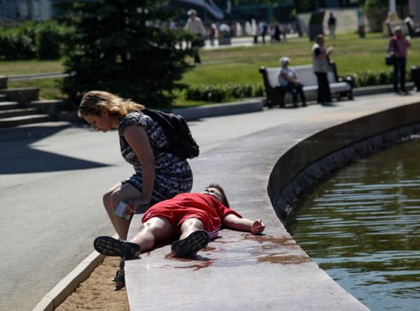 Аномальная жара возвращается на европейскую территорию России