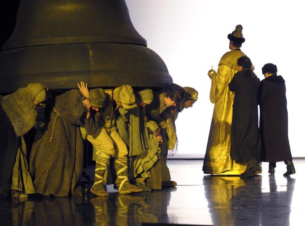 Новое открытие великой пьесы: трансляция спектакля «Борис Годунов»