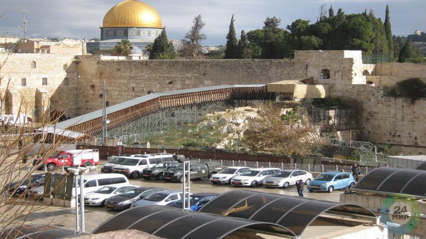 Названо время постройки моста на Храмовой горе в Иерусалиме