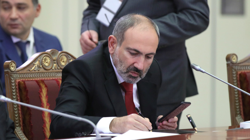 Пашинян заявил о необходимости укрепления ЕАЭС в условиях пандемии