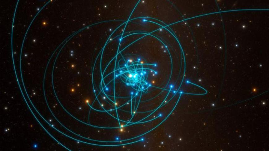 Танцующая звезда подтвердила теорию относительности Эйнштейна
