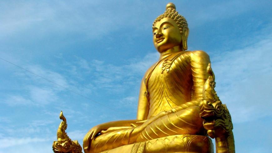 В Южной Корее обнаружили тысячелетнюю статую Будды