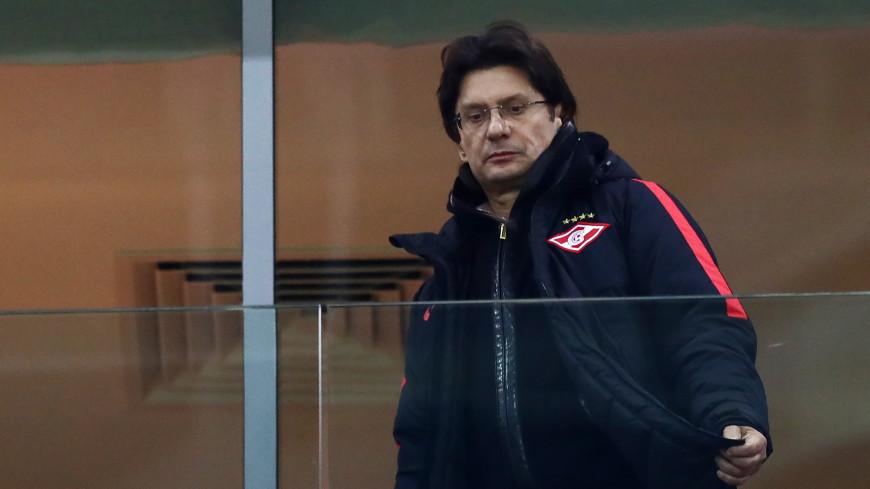 Переболевший COVID-19 владелец «Спартака» Федун посетил тренировку команды