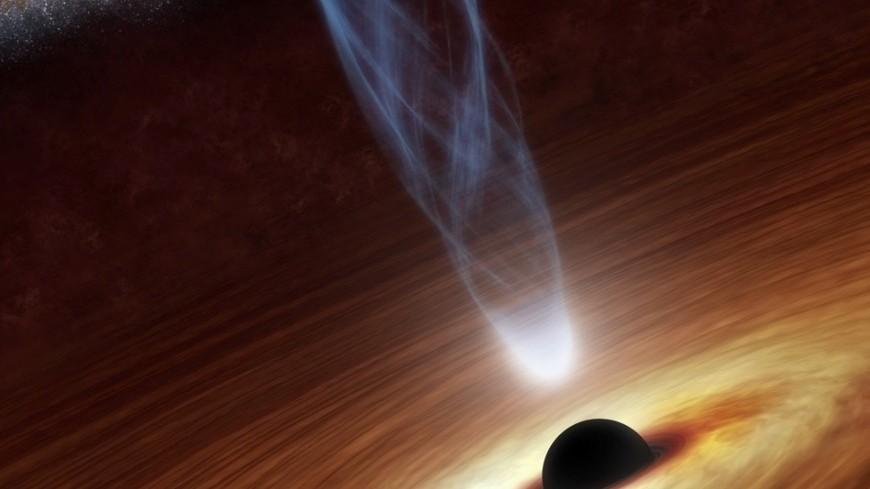 """Фото: """"NASA"""":http://www.nasa.gov, черная дыра, космос"""
