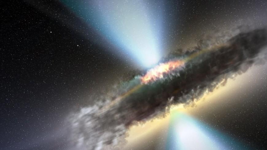 """Фото: """"NASA"""":http://www.nasa.gov, звезды, черная дыра, космос"""