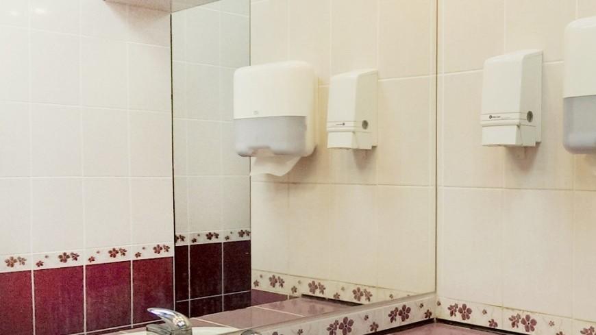 "Фото: Елизавета Шагалова, ""«МИР 24»"":http://mir24.tv/, зеркало, общественный туалет, туалет"