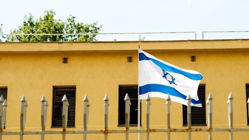 """Фото: Алан Кациев, """"«Мир24»"""":http://mir24.tv/, израиль, посольство израиля, флаг израиля"""