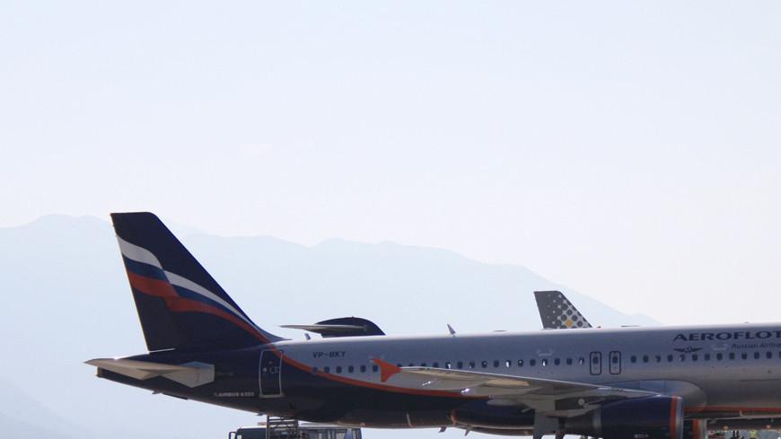 """Фото: Мария Чегляева, """"«МИР 24»"""":http://mir24.tv/, аэрофлот, самолет, самолеты, авиация, гражданская авиация, авиакомпания аэрофлот, самолет на земле"""