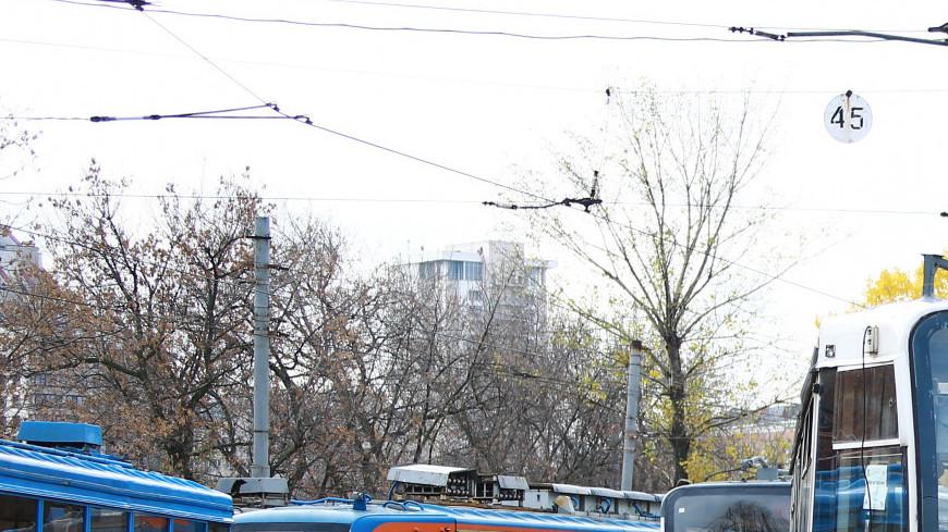 Трамвайное депо им. Русакова, трамвайное депо, Мосгортранс, трамвай, транспорт, городской транспорт, общественный транспорт,