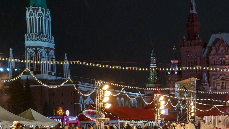 москва, центр, гум каток, красная площадь, каток, новый год, рождество,