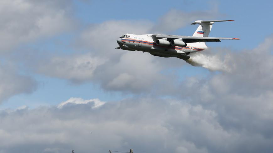 МЧС, Самолет, пожар