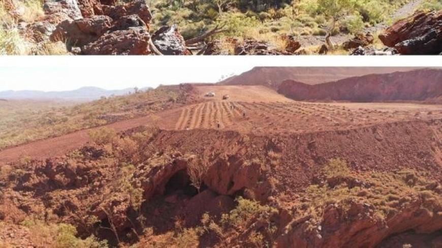 Добывающая компания по ошибке взорвала древние пещеры аборигенов