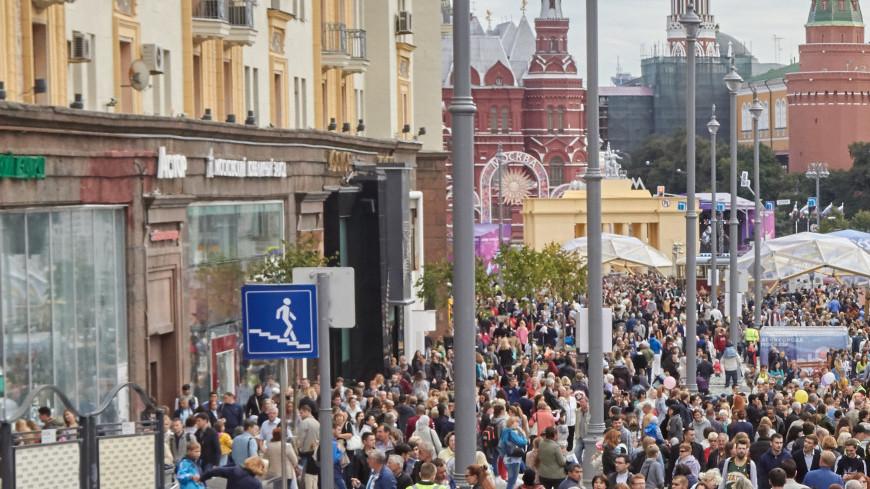 В праздновании Дня города приняли 6,5 млн москвичей