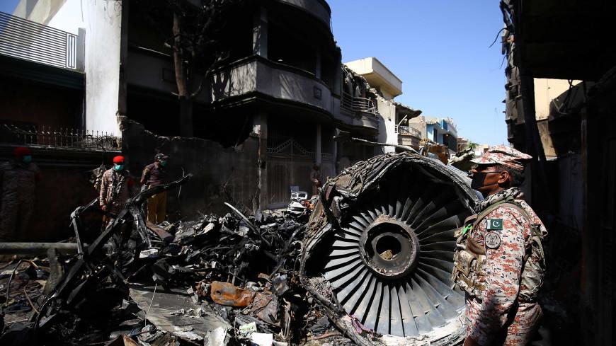Эксперты назвали предварительную причину крушения в мае Airbus А320 в Карачи