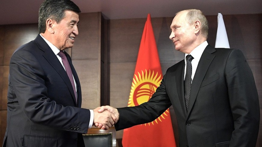 Путин и Жээнбеков обсудили сотрудничество в борьбе с коронавирусом