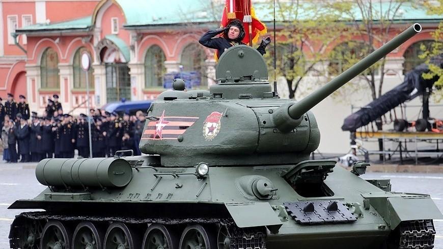Т-34, т34, парад, 9 мая, день победы, красная площадь, танк