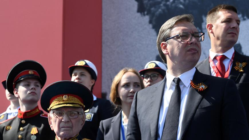Вучич признался, что испытал невероятные эмоции от парада Победы в Москве