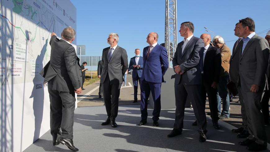 В Москве открыт участок ЦКАД от Можайского до Новорижского шоссе