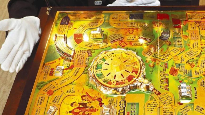 Настольную игру из золота за $1,3 млн создали в Японии