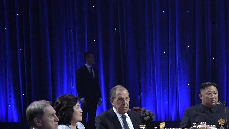 Путин на приеме в честь Ким Чен Ына процитировал корейскую поговорку