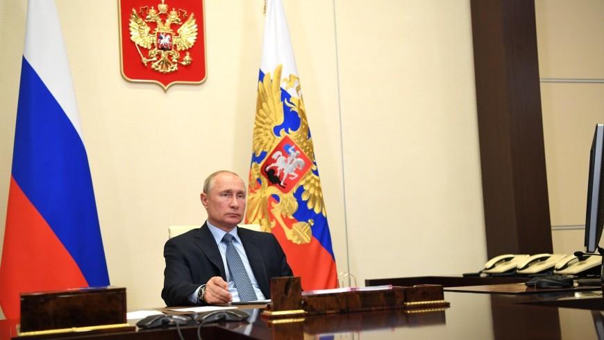 «Вызов колоссальной сложности»: Путин поблагодарил россиян за достойный отпор эпидемии COVID-19