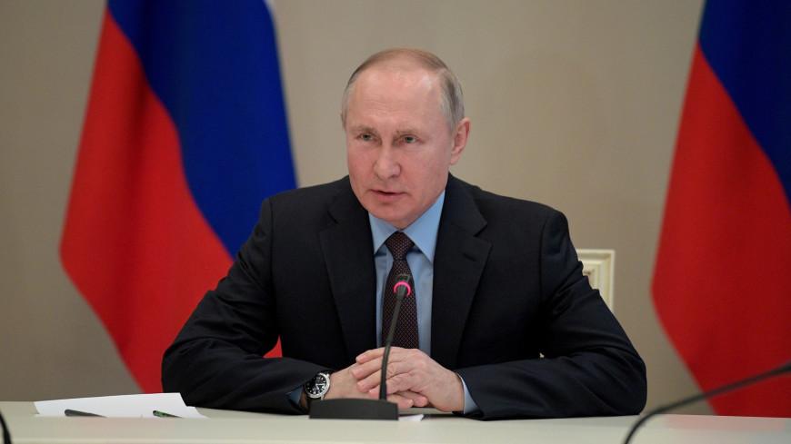 Путин: Политическая система не должна опираться только на главу государства