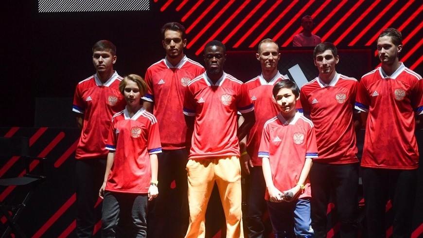 В Москве презентовали форму сборной России на Евро-2020 по футболу