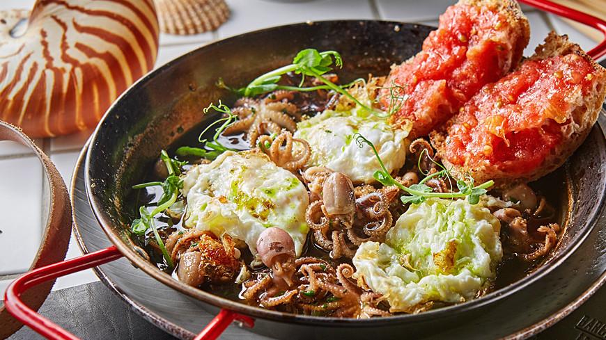 Крок Мадам, яичница с осьминожками и другие блюда из яиц. РЕЦЕПТЫ