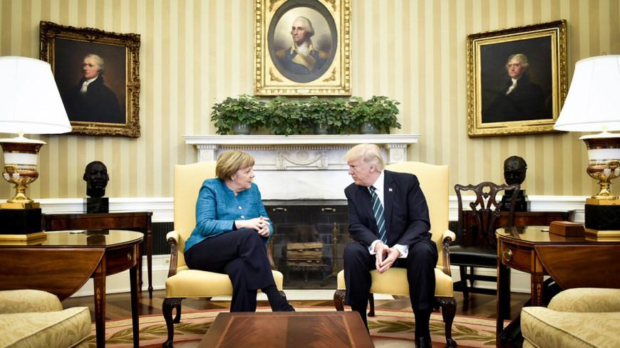 """Фото: """"Bundesregierung"""":http://www.bundesregierung.de/, ангела меркель и дональд трамп, меркель, ангела меркель, дональд трамп"""