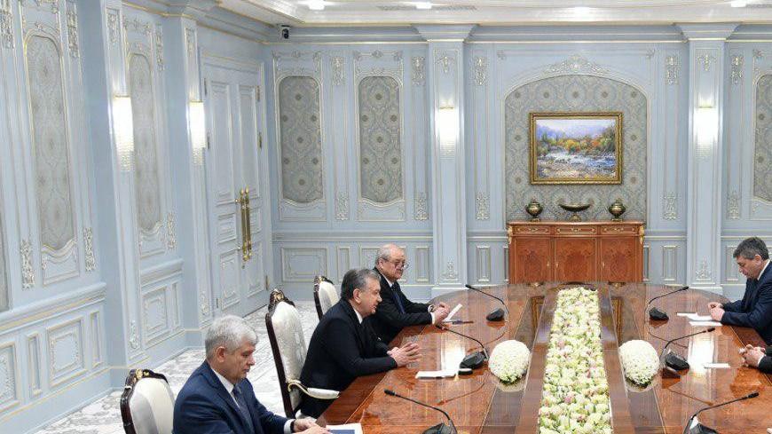 Лавров в Ташкенте встретился с президентом Узбекистана