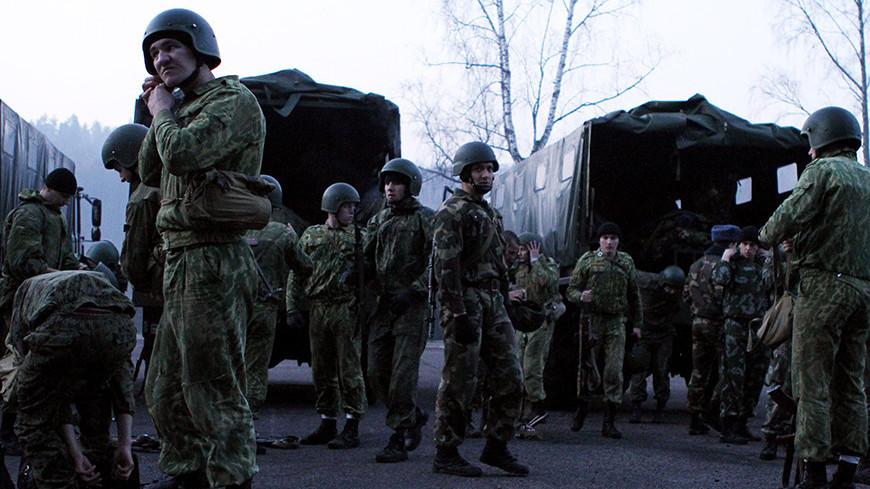 """© Фото: Виталий Залесский, """"«МИР 24»"""":http://mir24.tv/, учения, белорусские военные, военные, война, армия белоруссии, армия"""