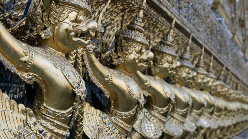 бангкок, , храм изумрудного будды, таиланд, азия