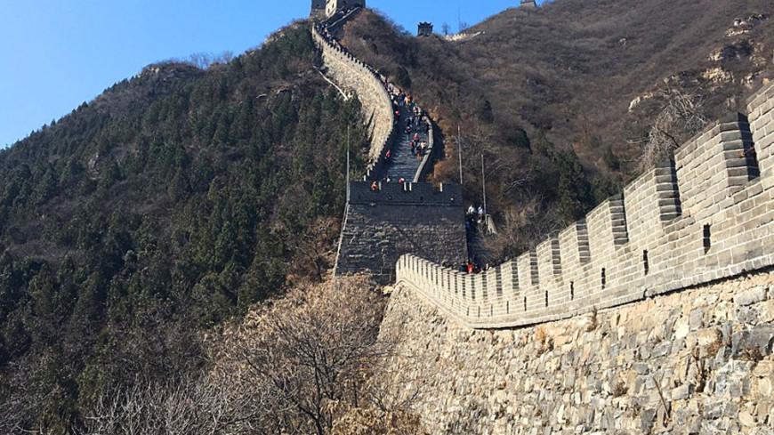 """Фото: Павел Калинин, """"«МИР 24»"""":http://mir24.tv/, великая китайская стена"""