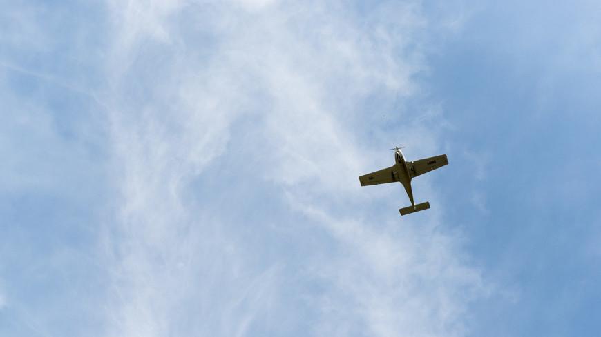 Легкомоторный самолет рухнул в Одессе