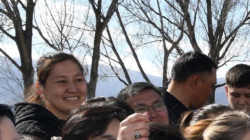 Назарбаев посетил родное село Шамалган