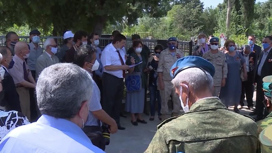 В Душанбе почтили память солдат, погибших в Великой Отечественной войне