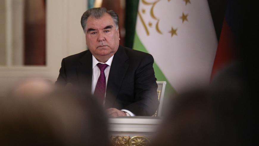 эмомали рахмон, президент таджикистана,