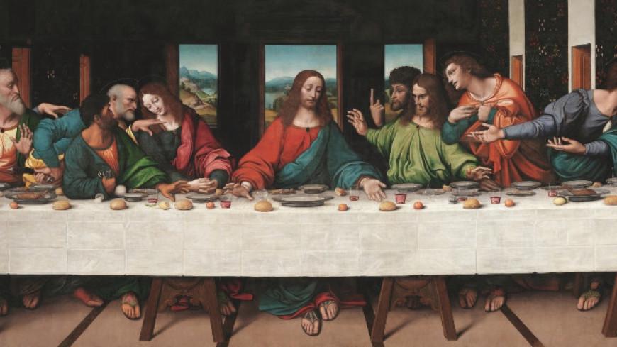 «Тайную вечерю» оцифровали в в сверхвысоком разрешении (ФОТО)
