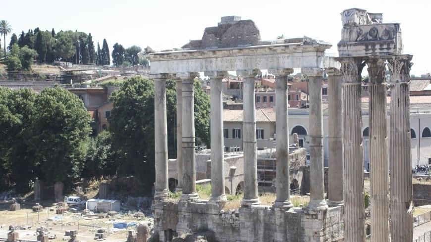 © Фото: Карташова, «Мир 24», колонны, италия, рим, римский форум