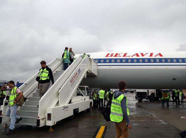 «Белавиа» приостанавливает полеты в Калининград и Санкт-Петербург
