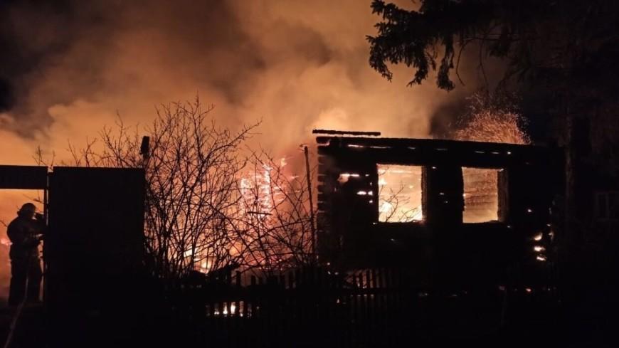 Пять человек погибли при пожаре в частном доме под Пензой