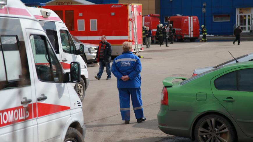 При тушении возгорания на алюминиевом заводе в Подмосковье пострадали пожарные