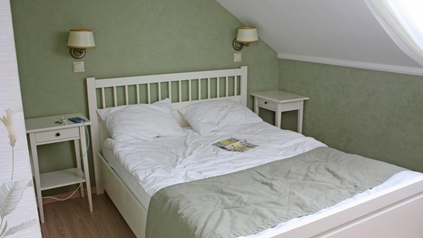"""Фото: Дарья Никишина (МТРК «Мир») """"«Мир 24»"""":http://mir24.tv/, номер, отель, гостиница, кровать, квартира"""