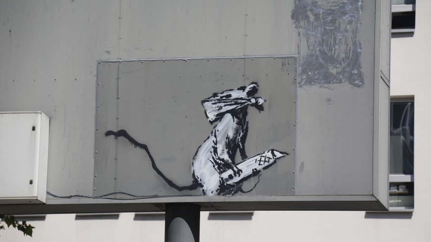 Произведение уличного художника Бэнкси могли похитить по его заказу