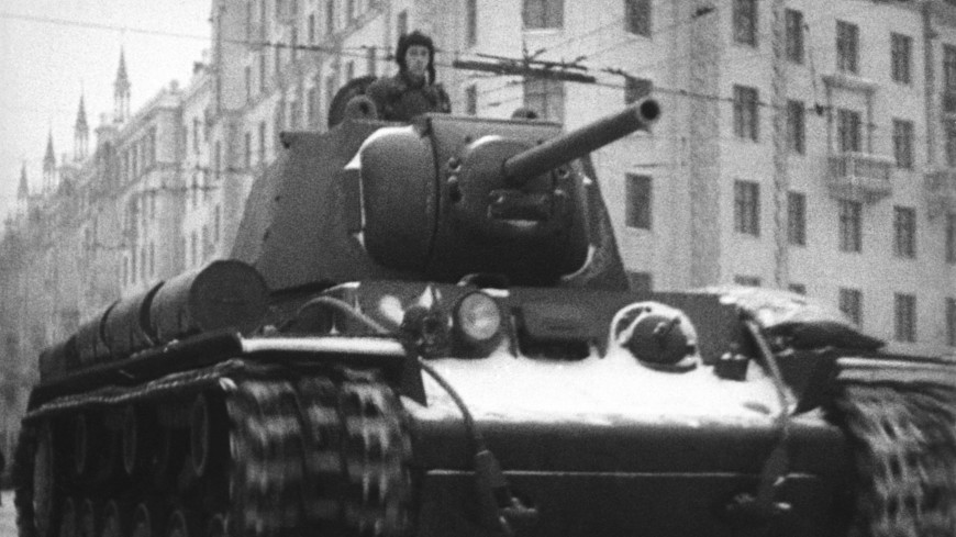 Оружие Победы: тяжелый танк КВ-1