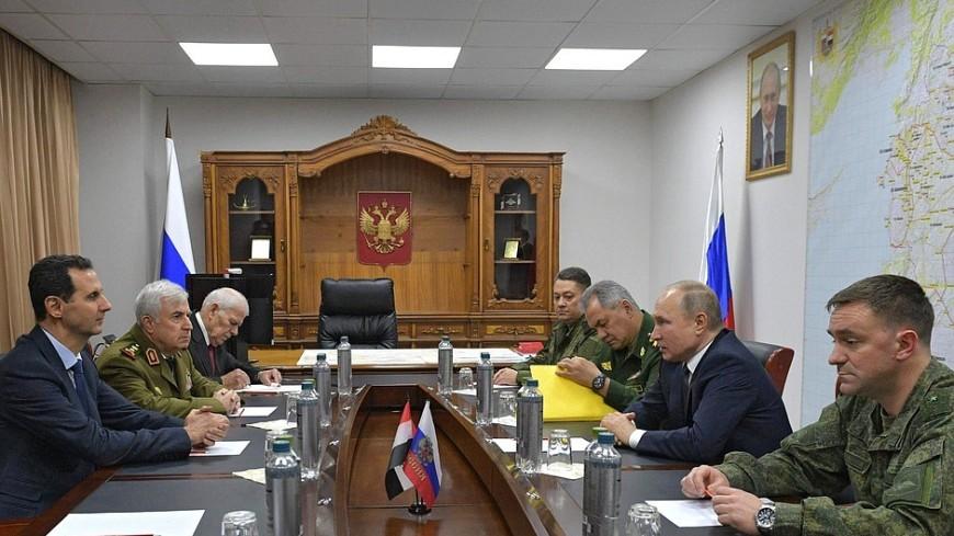 Путин рассказал Асаду о российско-турецких договоренностях